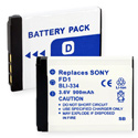 Empire BLI-334 900mAh 3.6V Replacement Lithium Ion (Li-Ion) Digital Camera Battery Pack for the SONY NP-FD1
