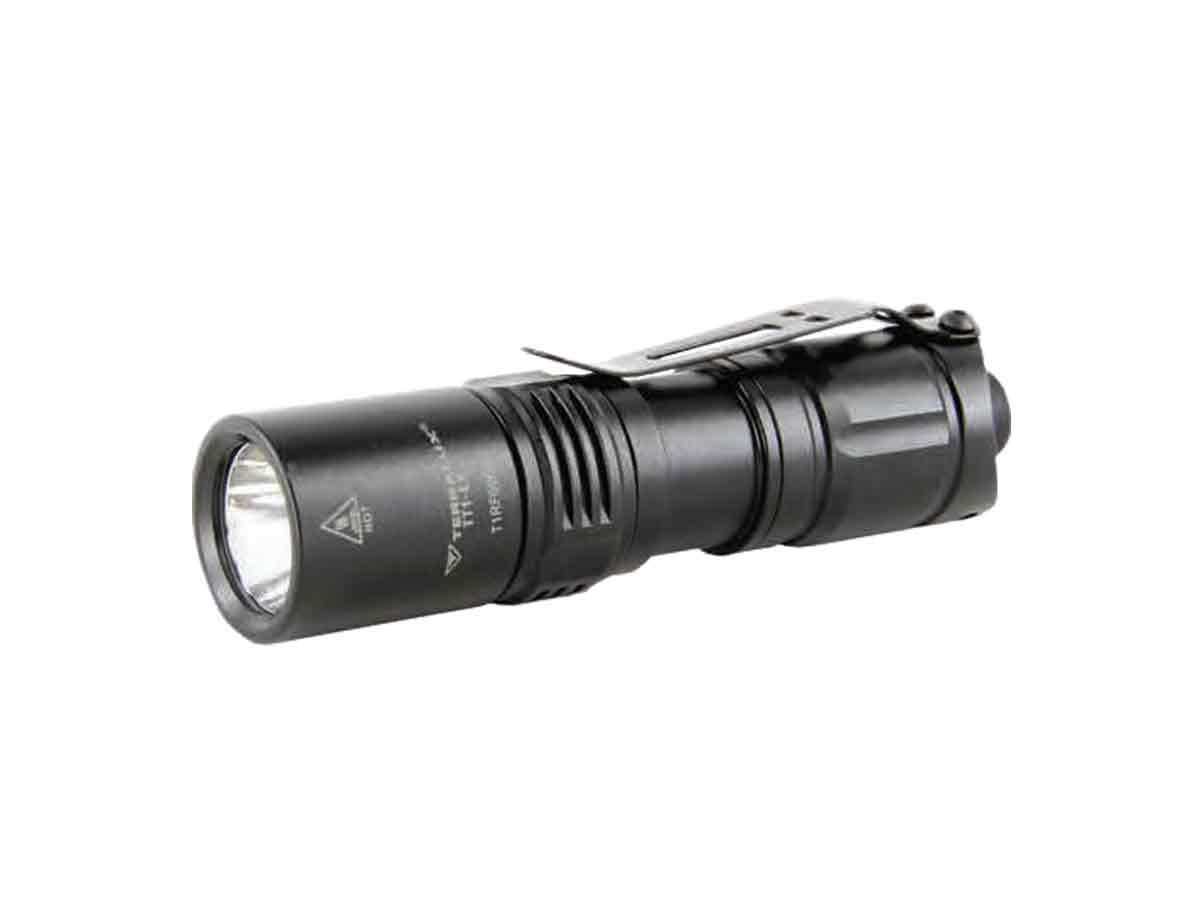 TerraLux Tactical 1 EX Flashlight left side angle
