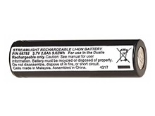 Streamlight 68792 2600mAh 3.6V Proprietary Unprotected Lithium Ion (Li-Ion) Flat Top Battery for the Dualie Rechargeable Flashlight
