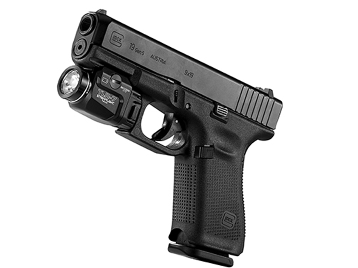 streamlight tlr-7 mounted on weapon