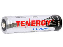 Tenergy 30016 18650 2600mAh 3.7V Protected Lithium Ion (Li-ion) Button Top Battery - Bulk