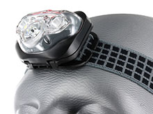 Energizer Vision HD+ Focus LED Headlamp - 315 Lumens - Includes 3 x AAAs - Available with Industrial Strap for Hardhats - (HDD32E / HDDIN32E)