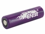 Efest 4506 18650 unprotected flat top battery side angle