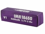 Packaging for Efest 4506 18650 unprotected flat top battery