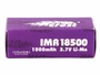 Packaging for Efest 4340 18500 unprotected flat top battery