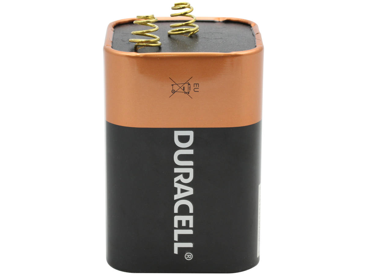 Duracell Coppertop Alkaline Lantern Battery upright