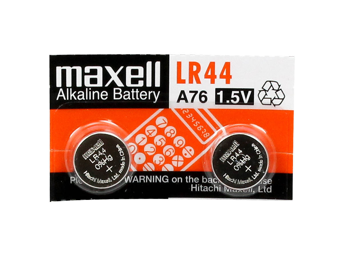 Maxell LR44 2-Pack Piece
