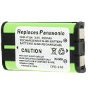 Empire 3.6V Replacement Nickel-Metal-Hydride (NiMH) HHR-P104 Battery Pack for Panasonic KX Phones (CPH-496)