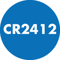 CR2412 Coin Cell Lithium Batteries