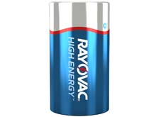 Rayovac High Energy 813FTJ D-cell 1.5V 14Ah Alkaline Flat Top Battery - Bulk