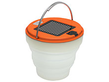 Ultimate Survival Technologies Spright Solar 20-12145 USB-Rechargeable LED Lantern - 120 Lumens - Includes Built-in Battery Pack