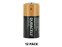 Duracell Ultra DL123A (12PK) CR123A 1470mAh 3V Lithium Primary (LiMNO2) Button Top Photo Battery - Box of 12