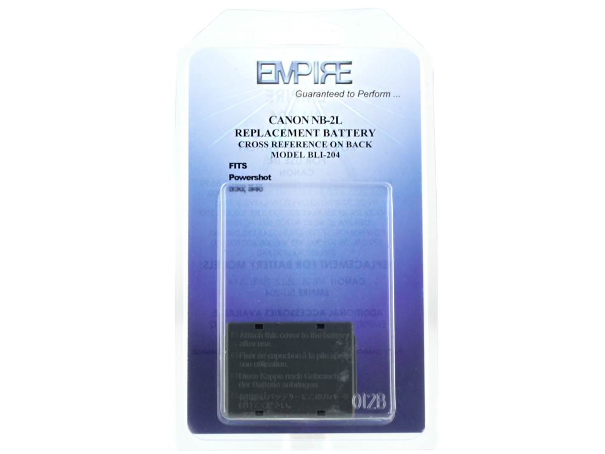 Packaging for Empire BLI-204 battery
