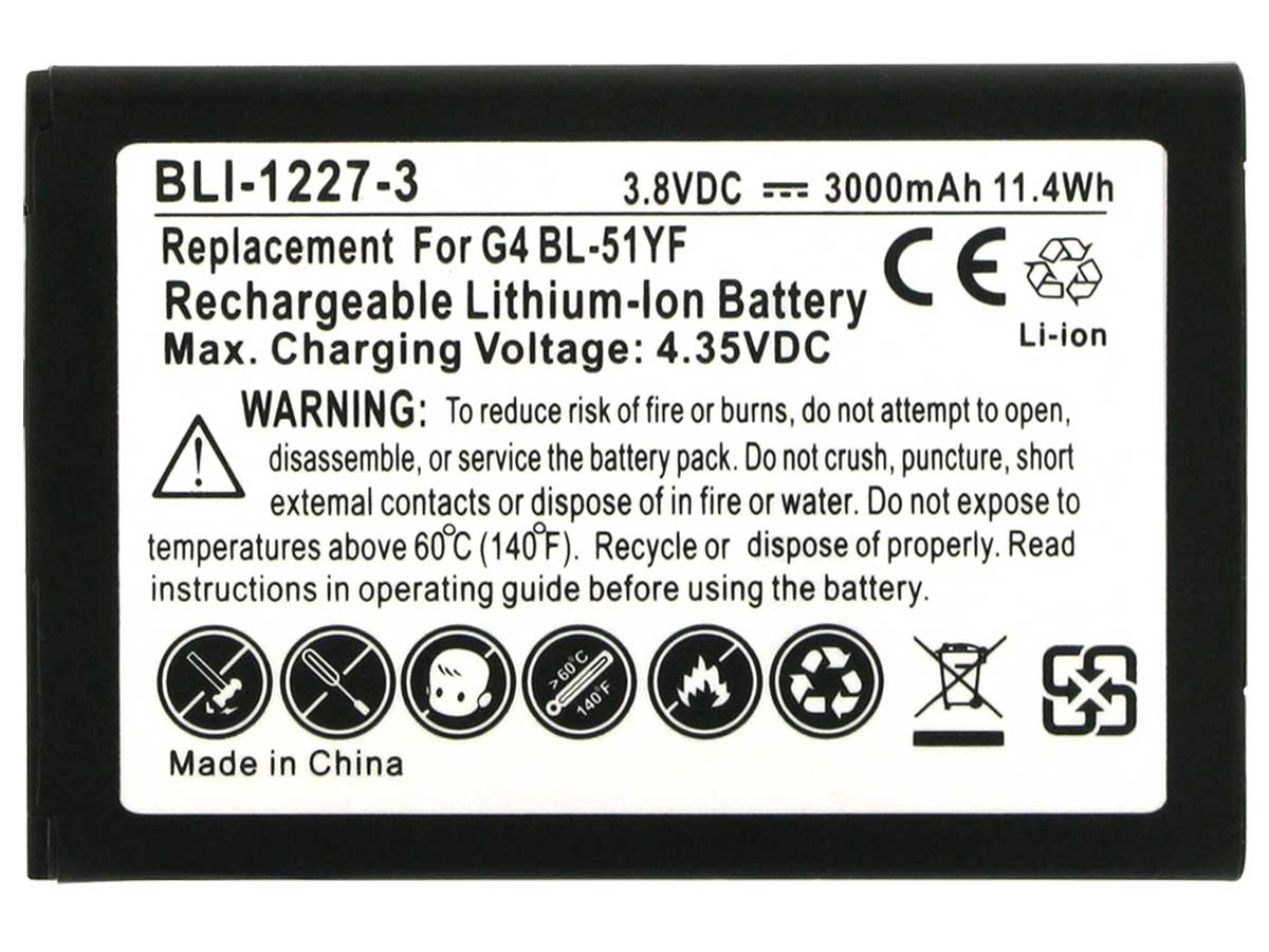 LG G4 Replacement Battery Pack
