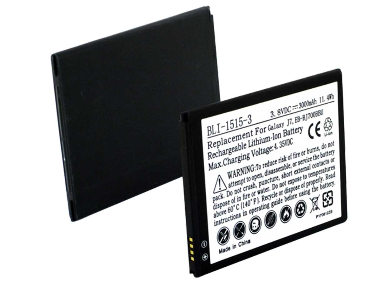 Galaxy J7 Replacement Battery (Front and Back)