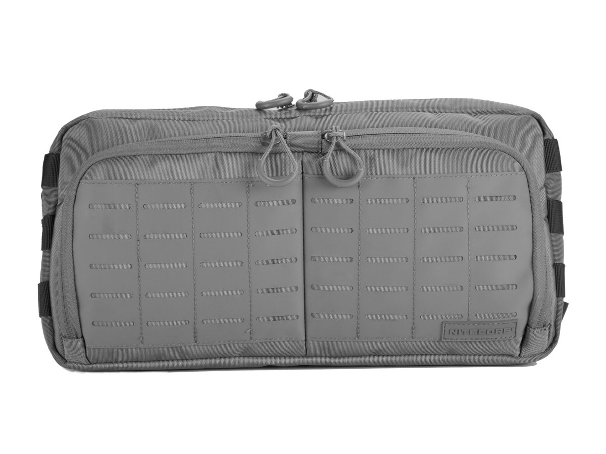 Grey Nitecore Bag with multiple pouches