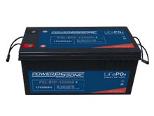 Power-Sonic PSL-BTP-123000 Blue Tooth Enabled 300AH 12.8V Rechargeable Lithium Iron Phosphate (LiFePO4) Battery - M8 Terminals