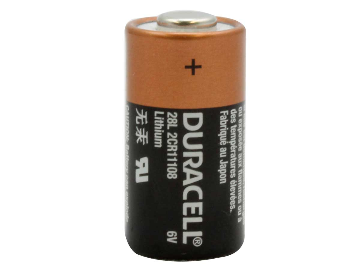 Duracell Photo 28L Lithium Button Top Photo Battery