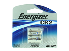 Energizer ELCR2-BP-2 800mAh 3V Lithium Primary (LiMNO2) Button Top Photo Batteries - 2 Pack Retail Card