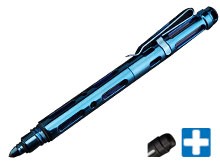 MecArmy TPX25 PVD Titanium Tactical Pen - Comes PVD Black and PVD Blue
