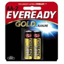 Energizer Eveready Gold A91-BP-2 AA 1.5V Alkaline Button Top Batteries - 2 Piece Retail Card
