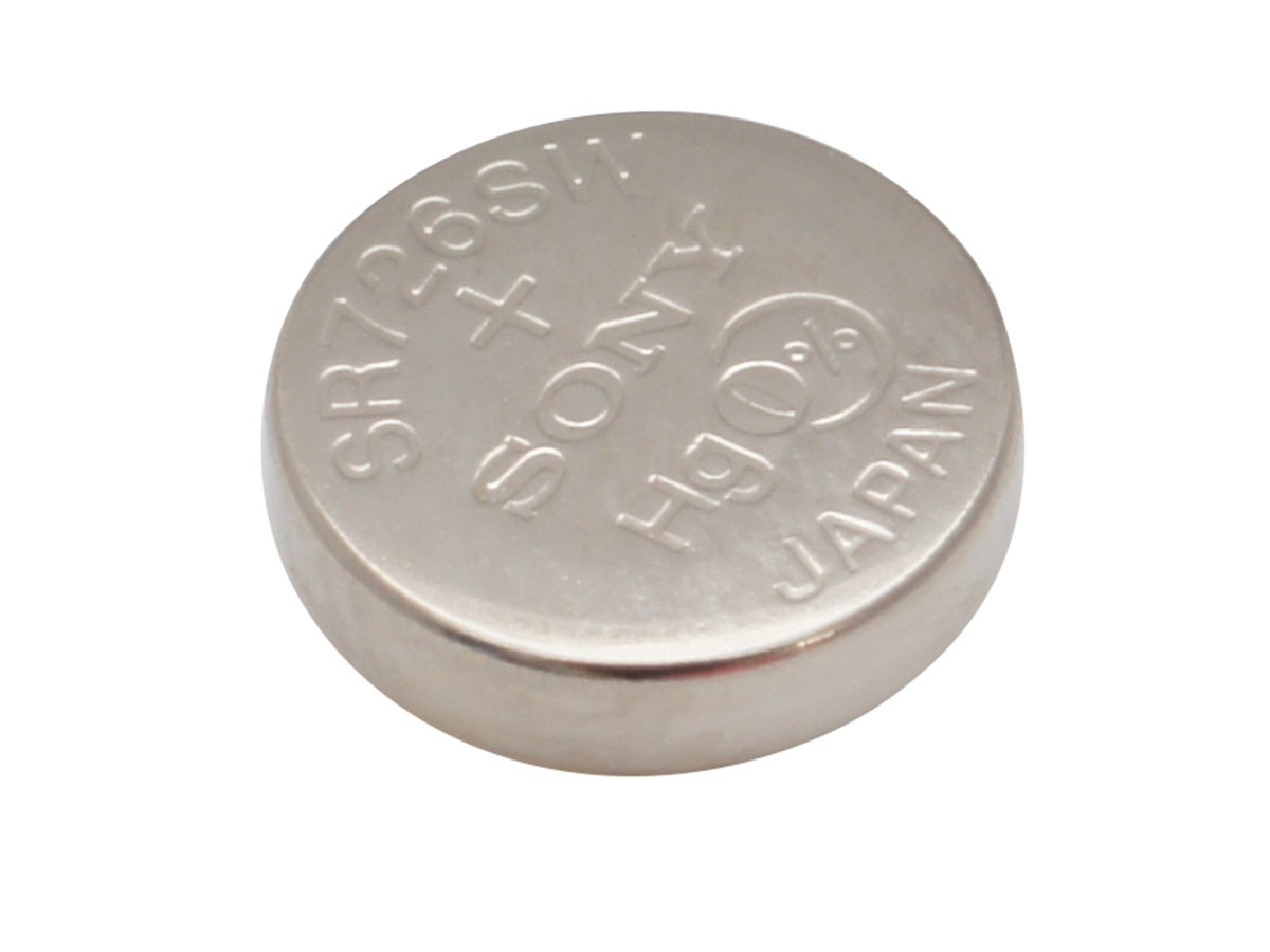 Angle Shot of Coin Cell
