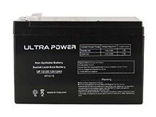 UltraPower UP12120F2 12Ah 12V Rechargeable Sealed Lead Acid (SLA) Battery - F2 Terminal
