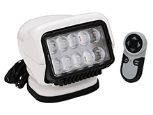 GoLight Stryker Remote Controlled LED Spotlight With Magnetic Base - White (30005)