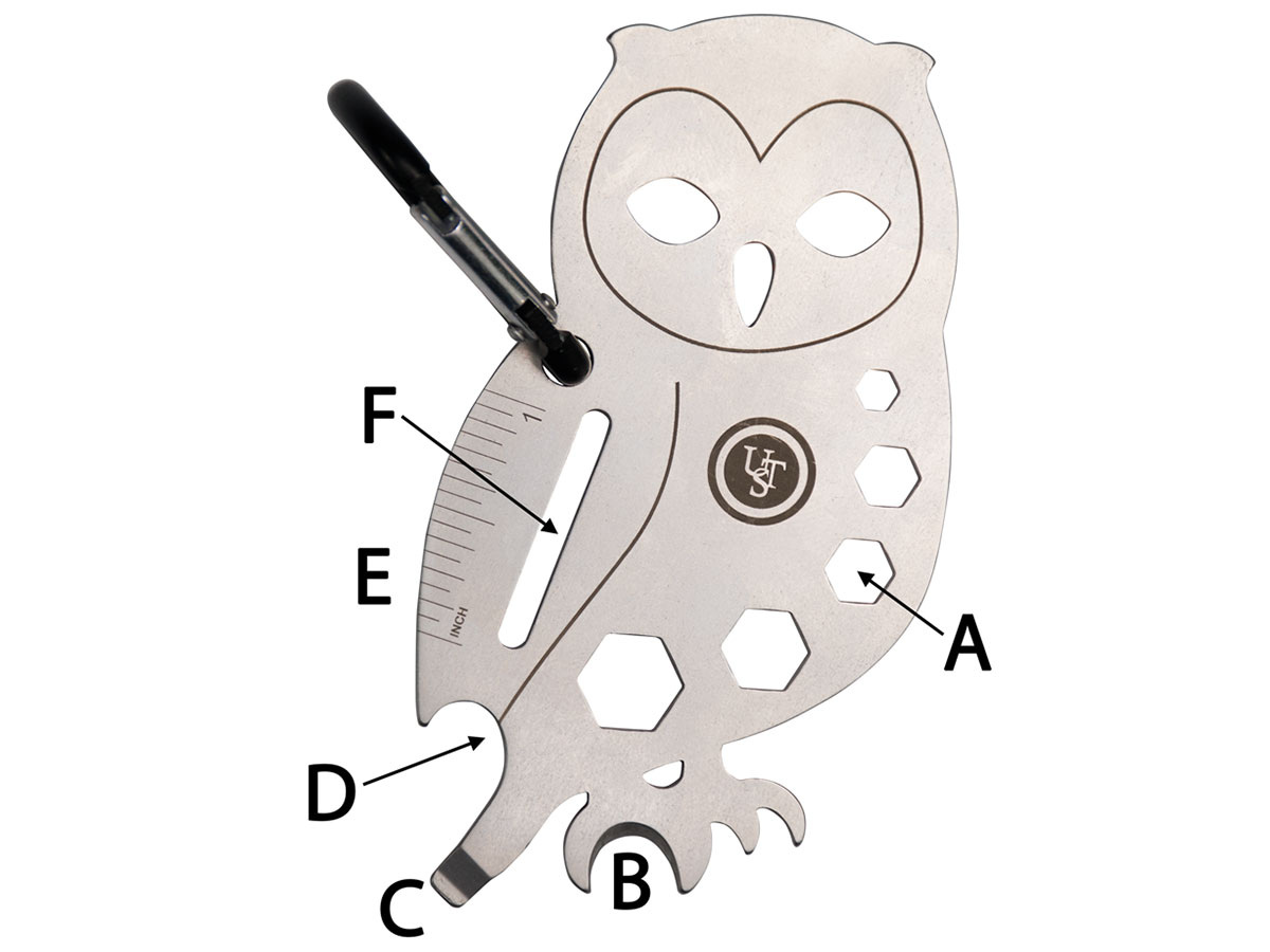 Owl Tool A Long on white background