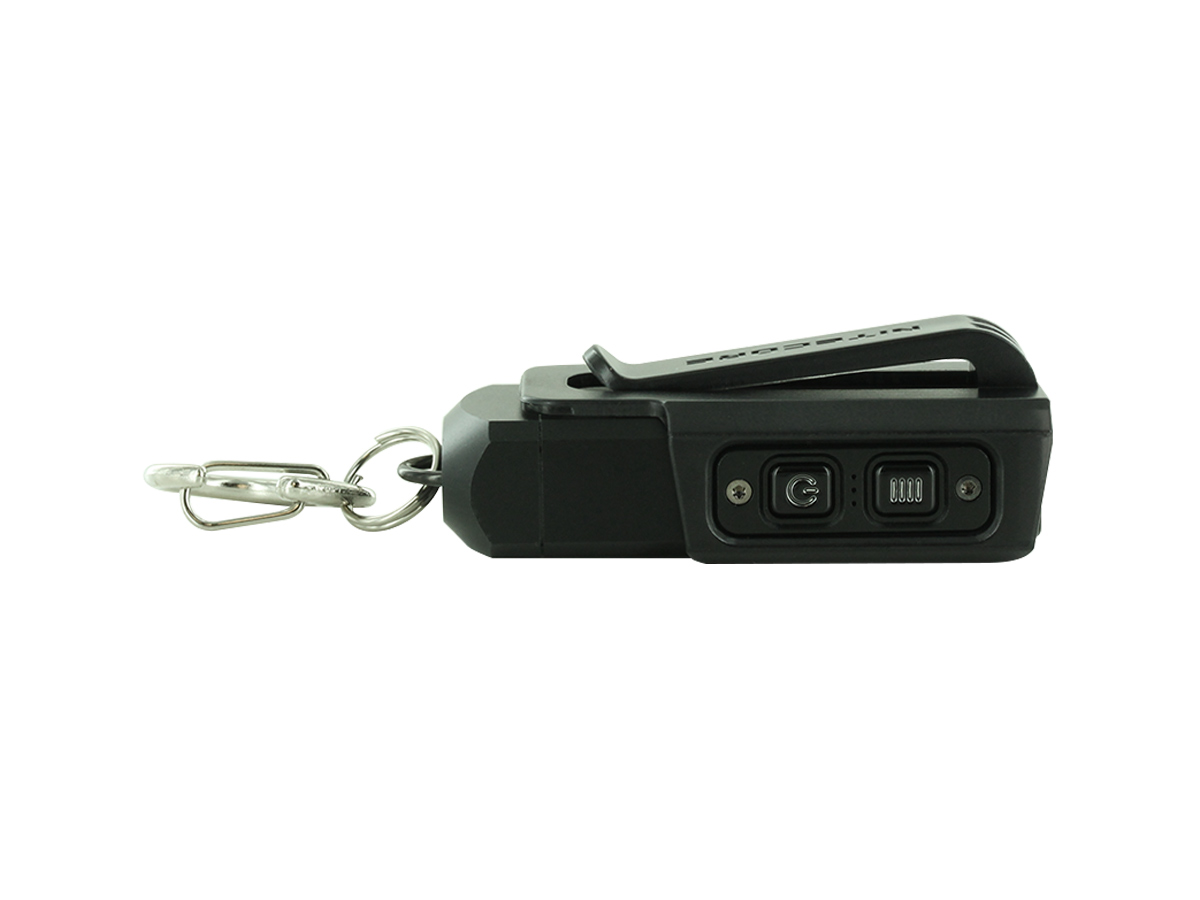 nitecore tip 2 being charged - usb cable is not included though