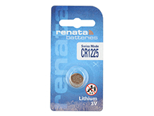Renata CR1225-CU 48mAh 3V Lithium Primary (LiMNO2) Coin Cell Battery - 1 Piece Retail Card
