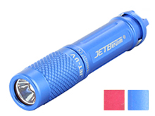 JETBeam JET-UV Ultraviolet Flashlight - 365nm - Uses 1 x AAA - Blue or Red