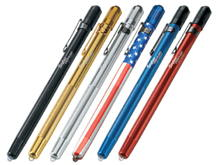 Streamlight Stylus Penlight - White LED - 11 Lumens - Includes 3 x AAAAs - 6 Color Options
