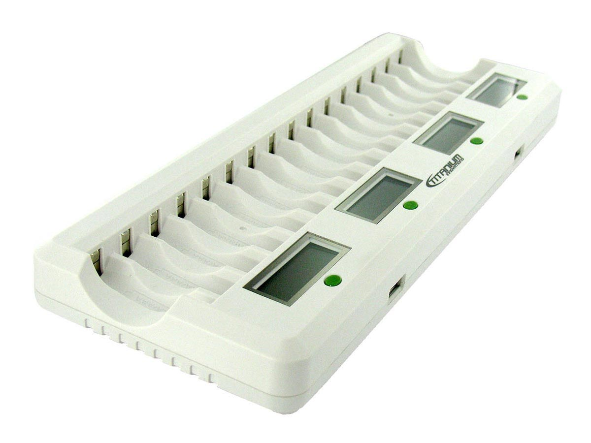 Side View of Battery Charger
