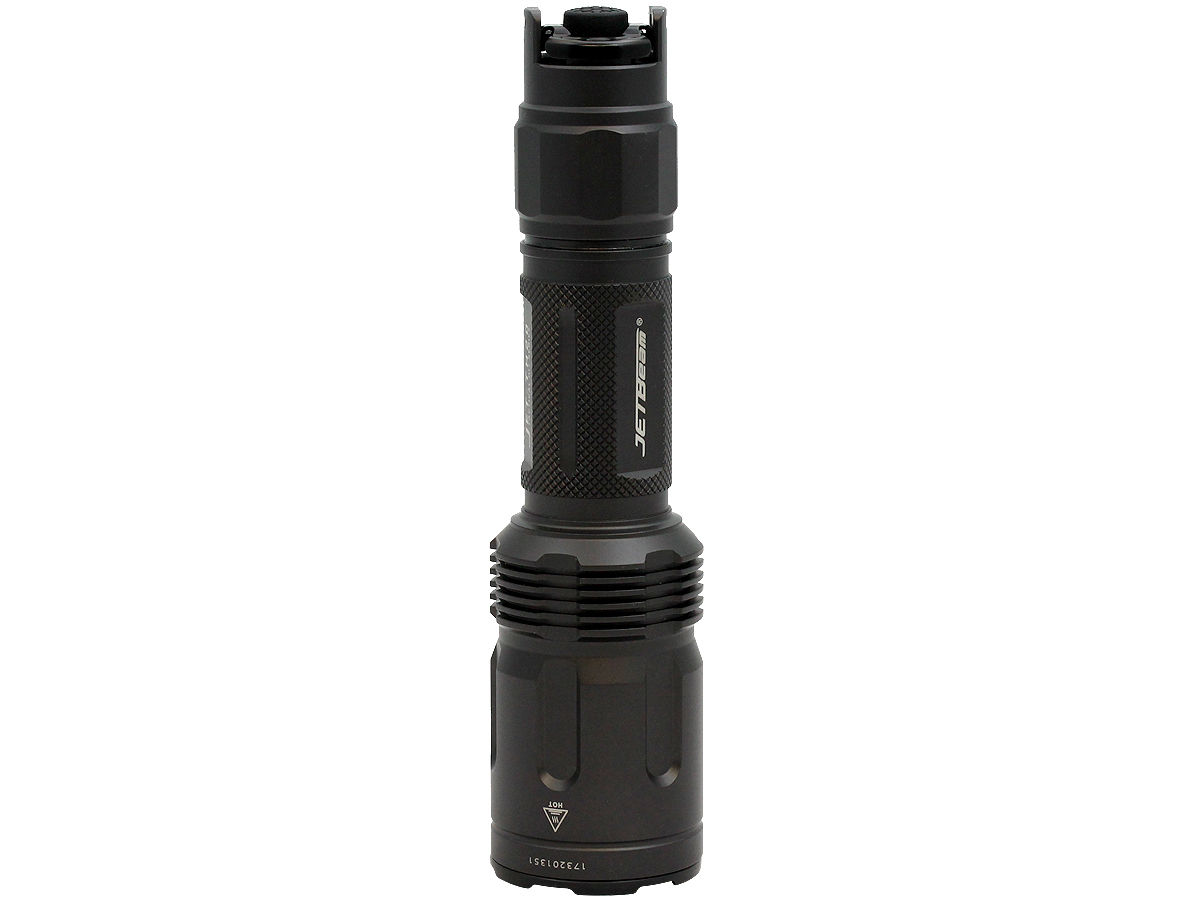 Standing Shot of the Jetbeam TH20 Tactical LED Flashlight