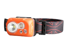 Klarus HC1-S Dual Lamp Featherweight LED Headlamp - 300 Lumens - CREE XPG3 S3 - Uses 3 x AAA (included)