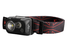 Klarus HC1-R Triple Lamp Featherweight LED Headlamp - 300 Lumens - CREE XPG3 S3 - Uses 3 x AAA (included)