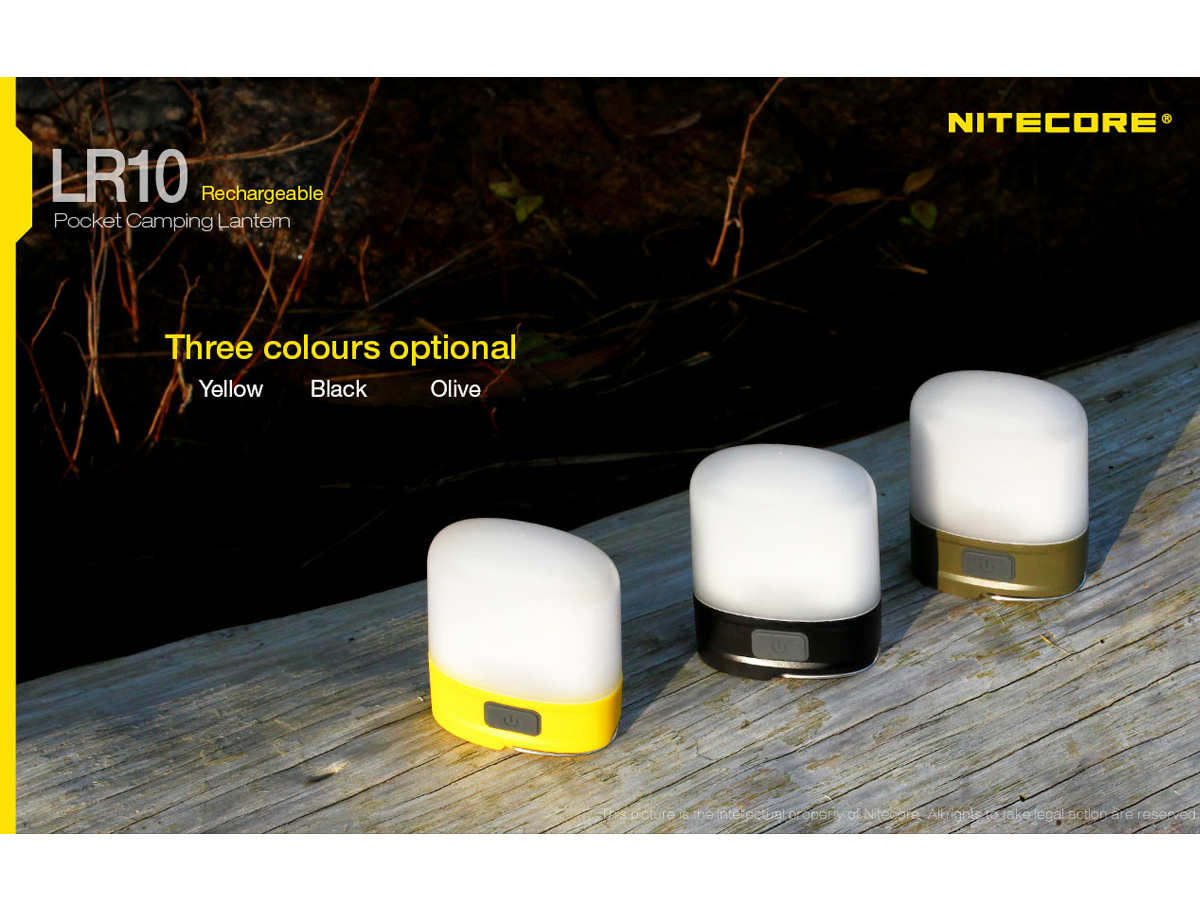 Different Colors of  the Nitecore LR10