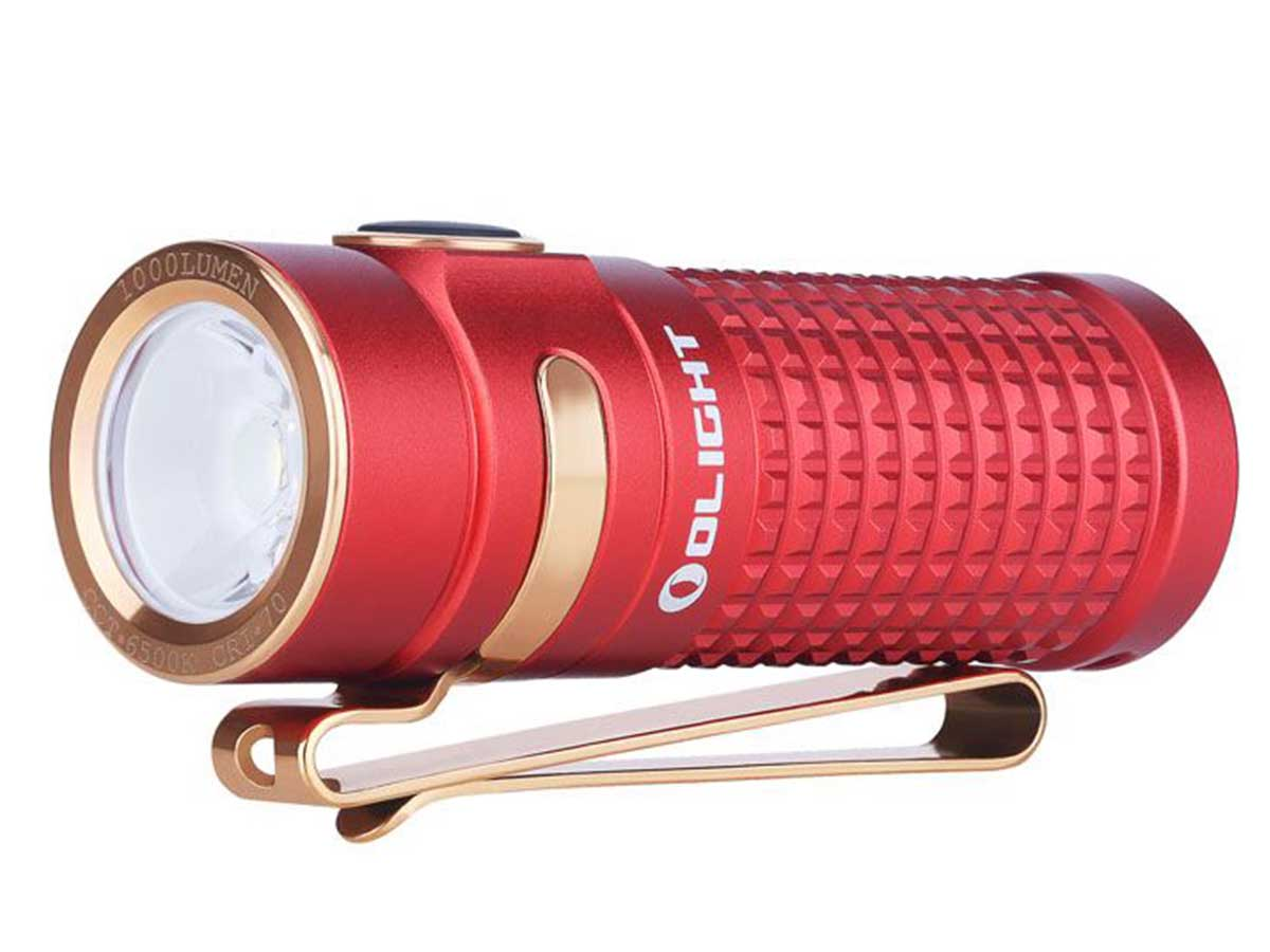 Olight S1R II Red left side angle