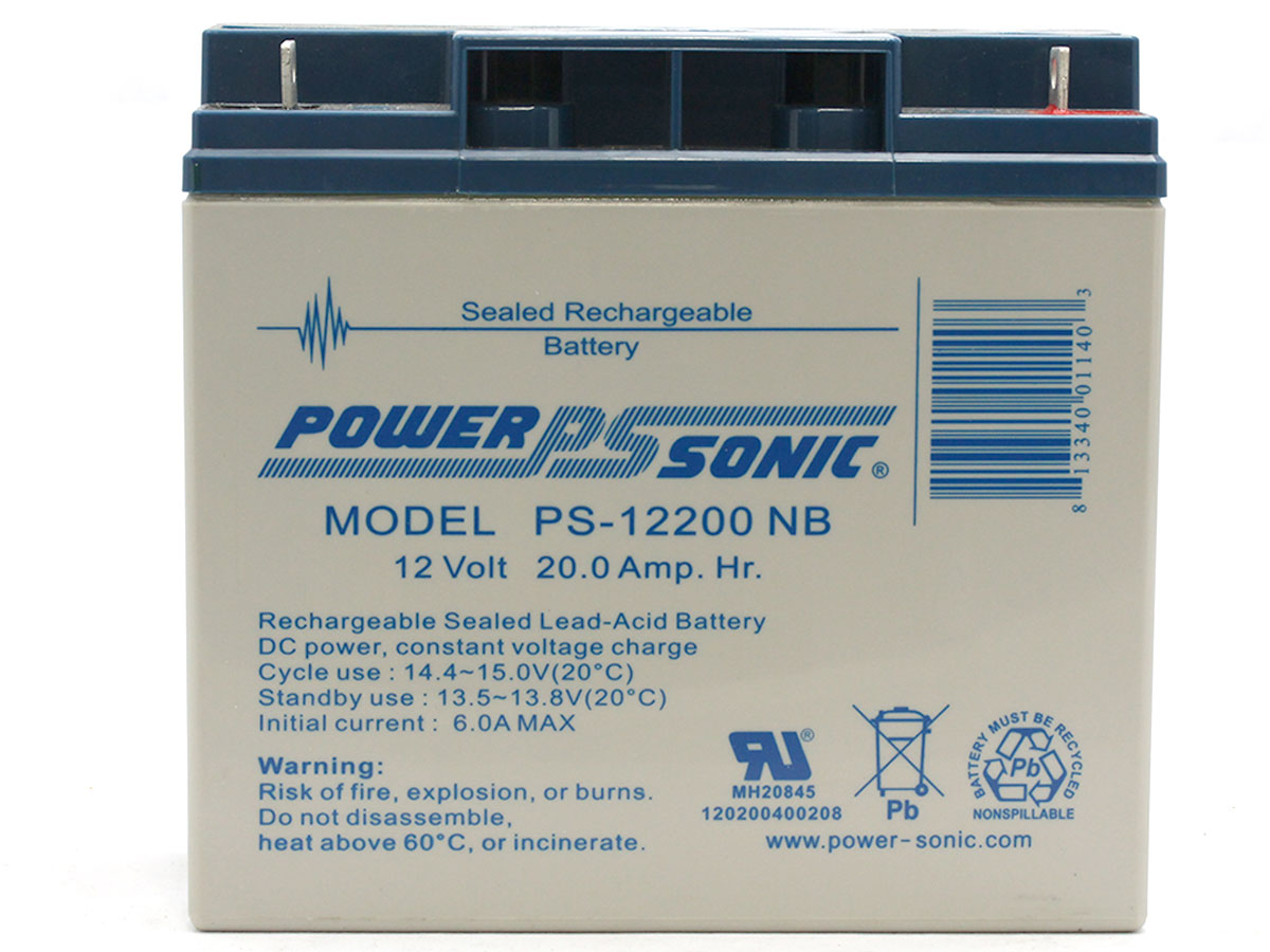 Main picture of Powersonic PS-12200 lead acid battery