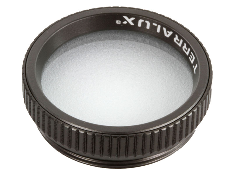 Terralux white filter front view