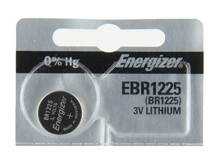 Energizer EBR1225 48mAh 3V Lithium (LiMNO2) Coin Cell Battery - 1 Piece Tear Strip, Sold Individually