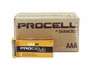 Shipping container for Duracell Procell AAA batteries