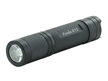 Fenix E12 Compact Everyday Carry Flashlight - CREE XP-E2 LED - 130 Lumens - Includes 1 x AA