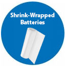 Shrink Wrapped Batteries