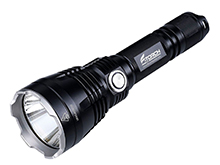 Fitorch P35R Rechargeable LED Flashlight and PowerBank - CREE XP-L - 1200 Lumens - Uses 1 x 18650 (included) or 2 x CR123A