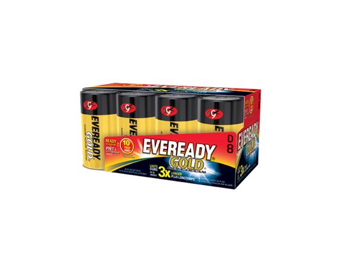 Energizer Eveready A95 batteries in 8 piece retail card