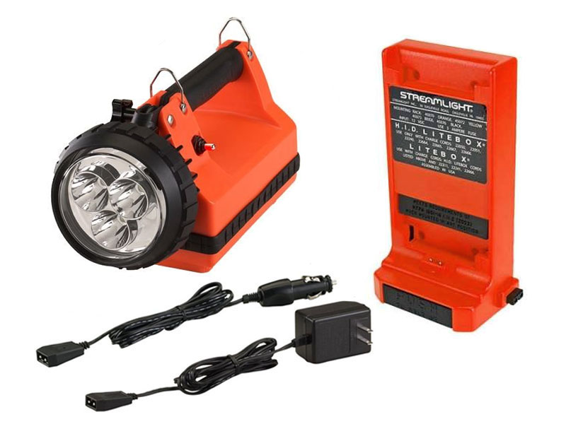 Streamlight E-Spot Firebox with battery and charging cord