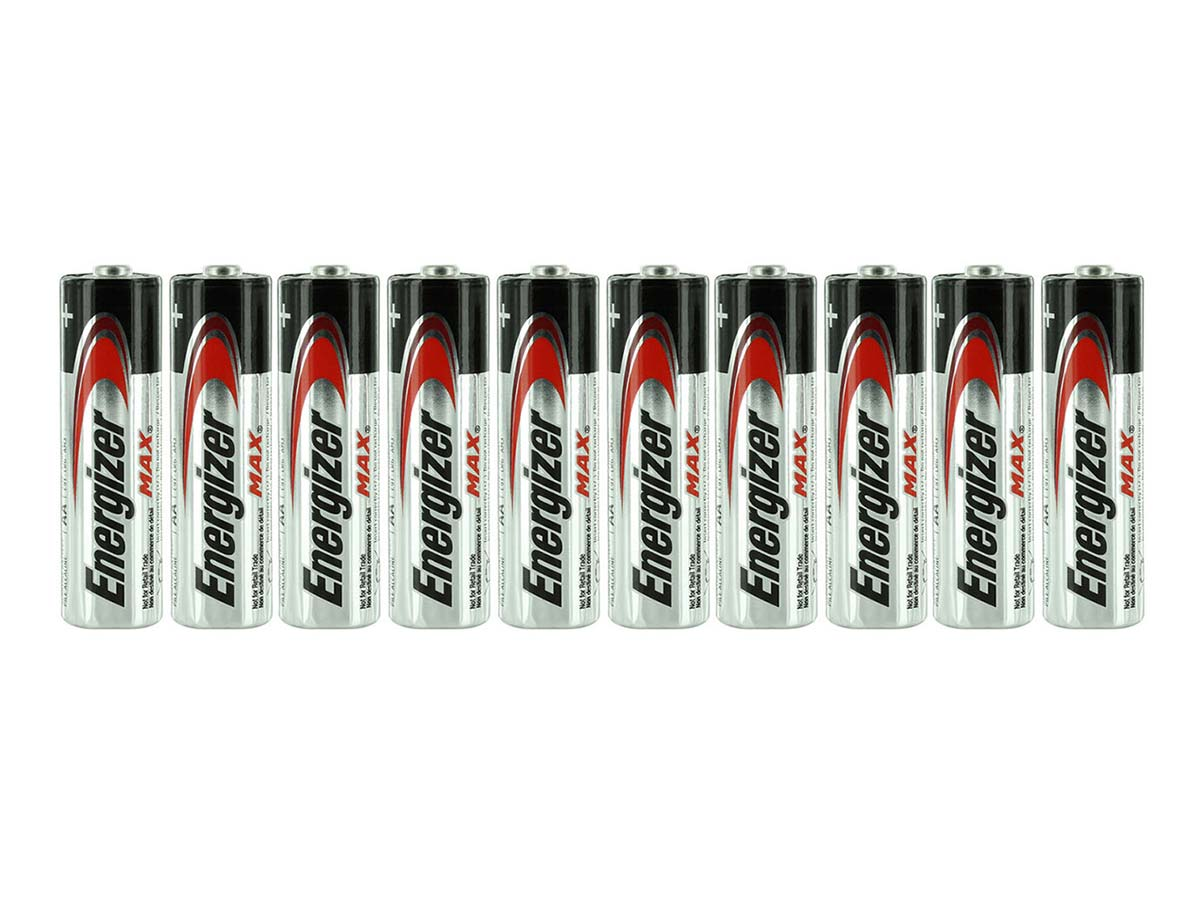 E91 AA Batteries Shrink-Wrapped in Sets of 10