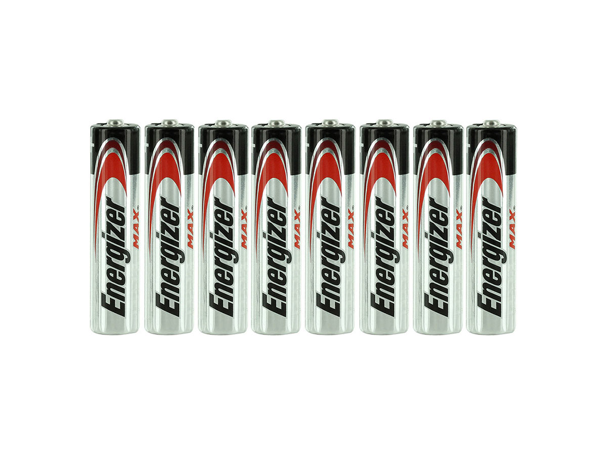 E92 AAA Batteries Shrink-Wrapped in Sets of 8